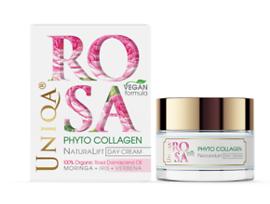 Rosa uniqa Дневен крем веган формула с органик розово масло 50 г