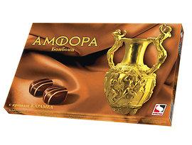 Шоколадови бонбони Амфора карамел 135 г
