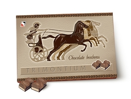 Бонбони Тримонциум шоколадови 150 г