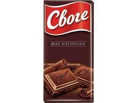 Шоколад Своге Натурален 90 гр