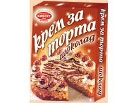 Биосет Крем за торта шоколад 75 г