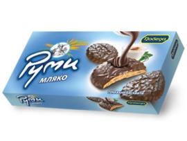 Победа Бисквити РУМИ мляко 155 г