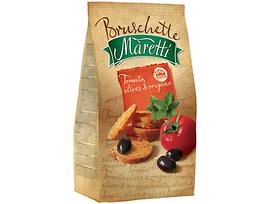 Брускети Марети с домати маслини и риган 70 г