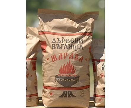 Дървени въглища Жарава от естествена дървесина 30 кг