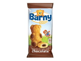 Барни мини кексче с шоколад 30 г