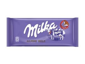Милка Шоколад с алпийско мляко 100gr 100 гр
