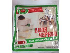 Бяла Черква сирене от краве мляко вакуум 400 г