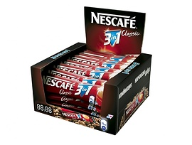 Нестле Кафе Нескафе 3 в 1 18 г кутия 28 бр