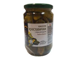 Пиперка Кисели краставички 680 г
