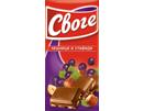 Шоколад Своге Лешник и стафиди 90 гр