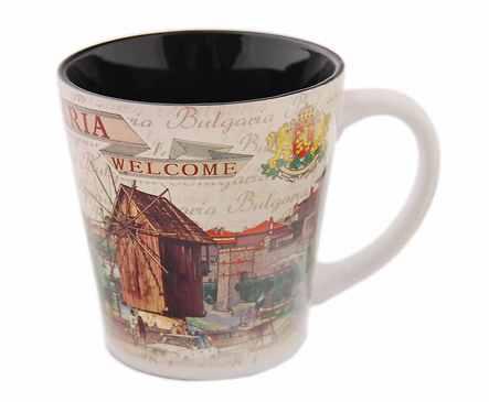 Чаша за чай България различни пейзажи