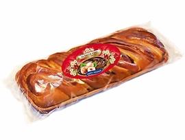 Великденска плитка с лешников крем и парченца шоколад 300 г