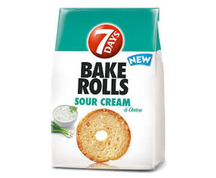 Bake Rolls сметана и лук 80 г кутия 12 бр