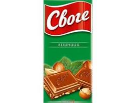 Шоколад Своге Лешник 90 гр