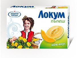 Захарни Заводи ГО Локум пъпеш 100 г