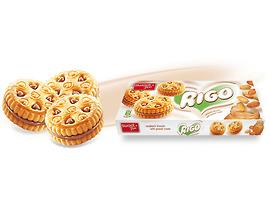 Риго Бисквити с фъстъчен крем 165 г