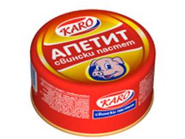 Каро Апетит свински пастет 300 г