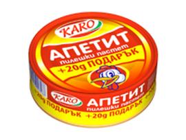 Каро пастет с пилешки дроб 180 г