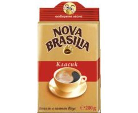 Нова Бразилия Кафе Класик мляно 200 г